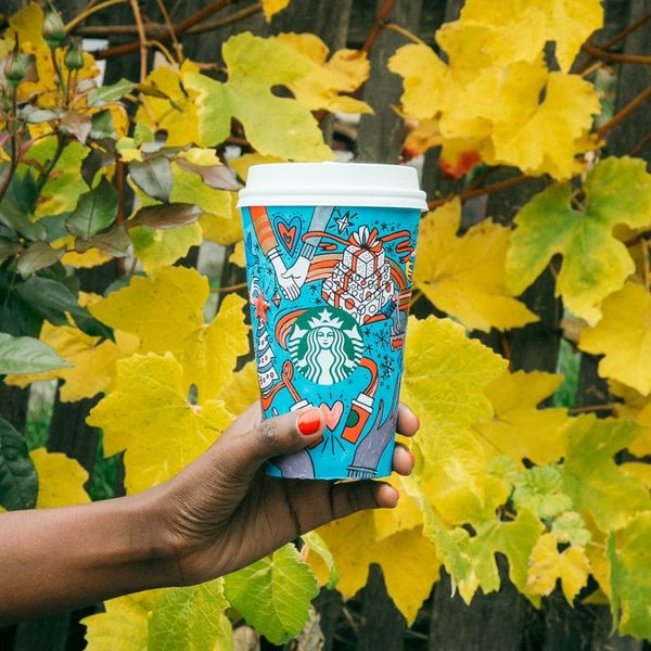 The Starbucks Holiday Cup Is Officially Here and It's Customizable