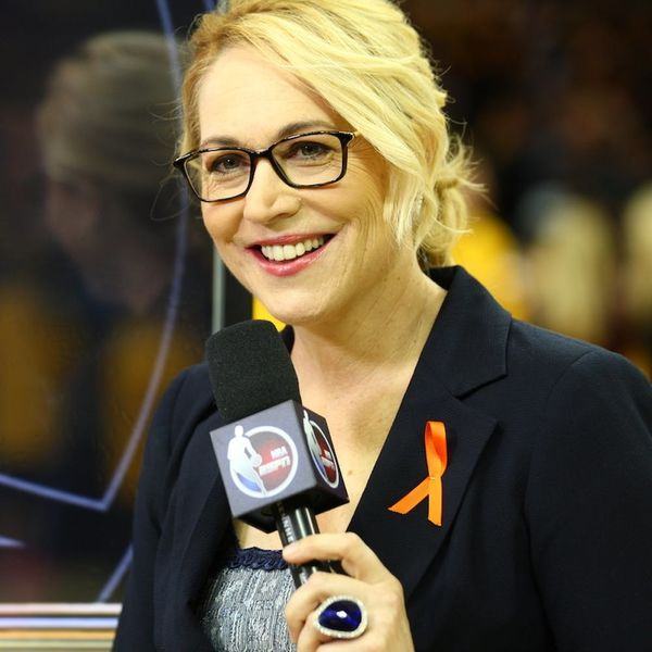 How Doris Burke Is Making History As ESPN's FIRST Female, Full-time NBA Analyst