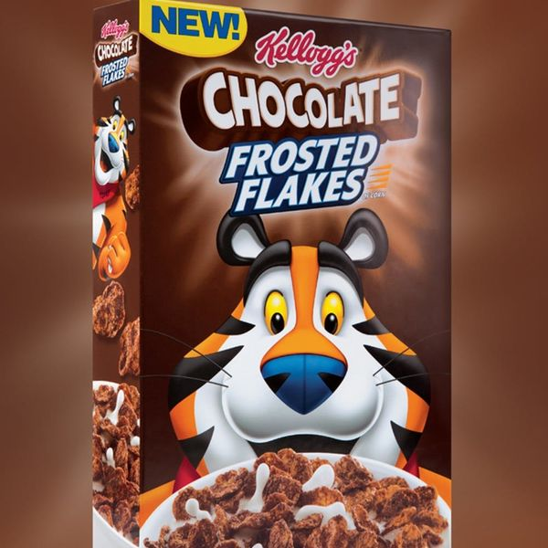 Kellogg's Is Releasing CHOCOLATE Frosted Flakes