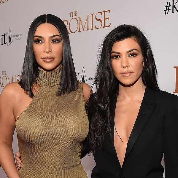 Kim Kardashian West and Kourtney Kardashian Just Pulled Off the Most Epic Couples' Costume Ever
