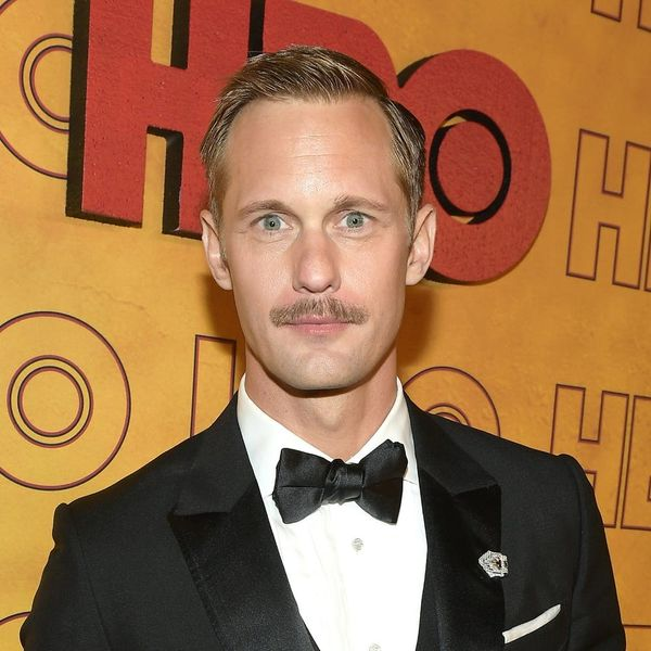 """Twitter Compares Alexander Skarsgård's New Haircut to """"Seinfeld's' George Costanza"""""""