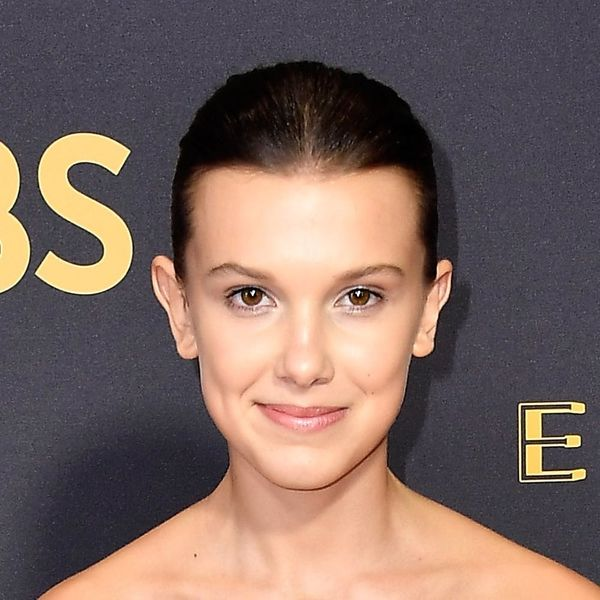 "Millie Bobby Brown Just Debuted Long Hair on the Red Carpet and Our Worlds Are ""Upside Down"""