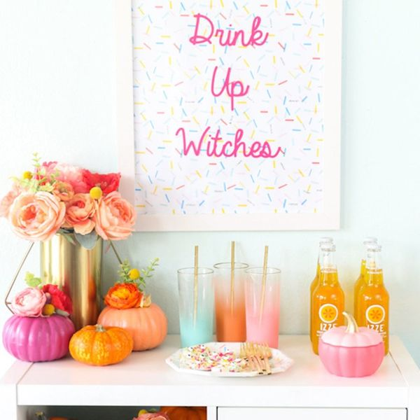 10 Halloween Bar Carts to Get Your Boo-s On