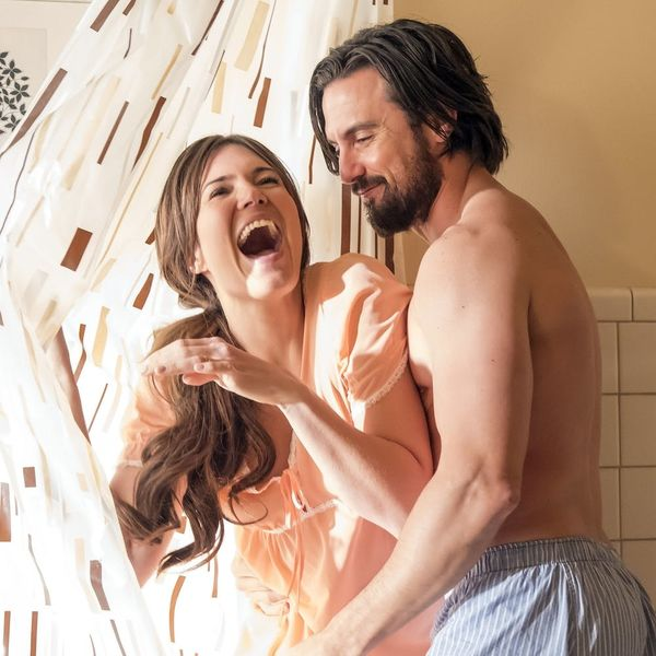 """Mandy Moore Reveals """"This Is Us"""" Couples Halloween Costumes"""