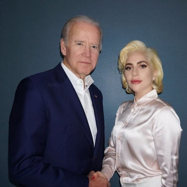 Lady Gaga Is Teaming Up With Joe Biden to Promote Accountability for Sexual Assault