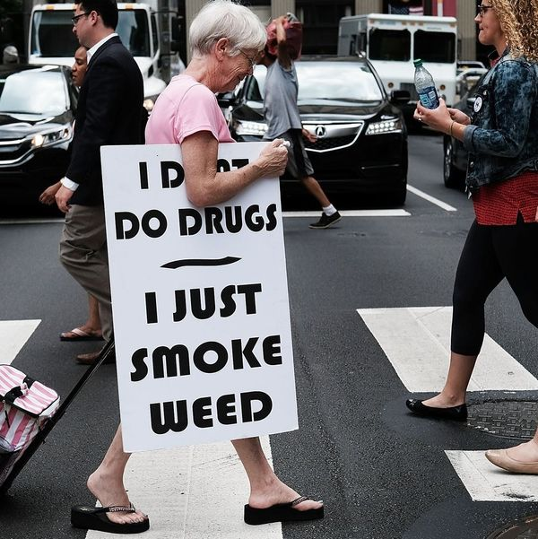 A New Poll Finds That Over 60 Percent of Americans Support Marijuana Legalization