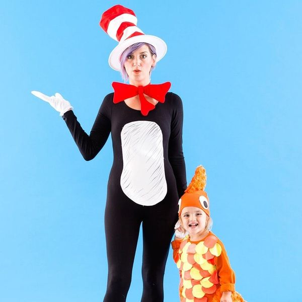 "Make a Boom in These ""Cat in the Hat"" Halloween Costumes"