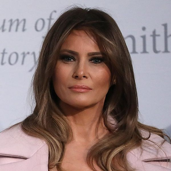 Melania Trump Makes Anti-Bullying Appearance in $3000 Baby Pink Coat