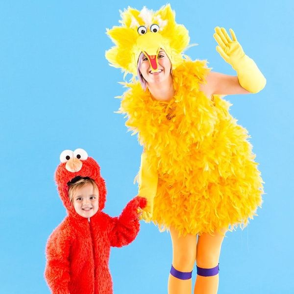Head to Sesame Street in This Mommy and Me Halloween Costume