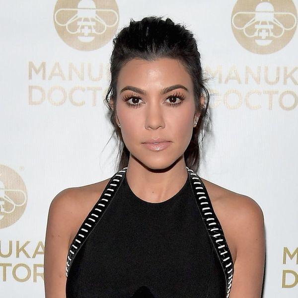 Kourtney Kardashian Clears Up Those Pregnancy Rumors