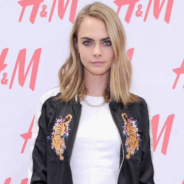 """Cara Delevingne's New Silver Platinum Color Is *THE* Spring Hue You'll Be """"Dyeing"""" to Try"""