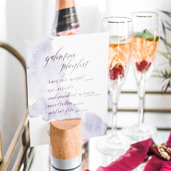 These Geometric Accents Will Give Your Wedding Decor the Ultimate Edge