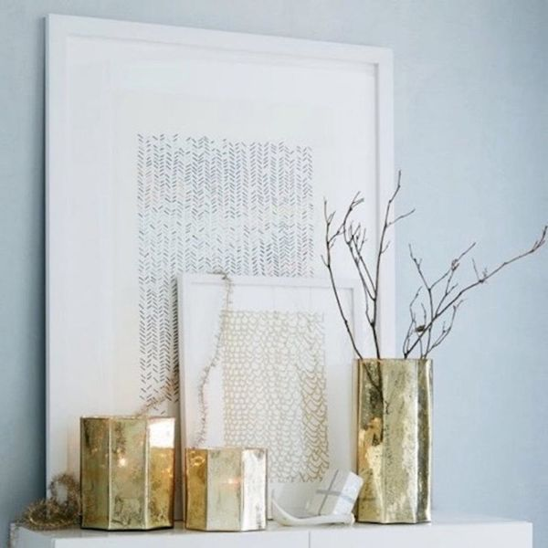 The New Minted x West Elm Collab Is Gallery Wall Gold