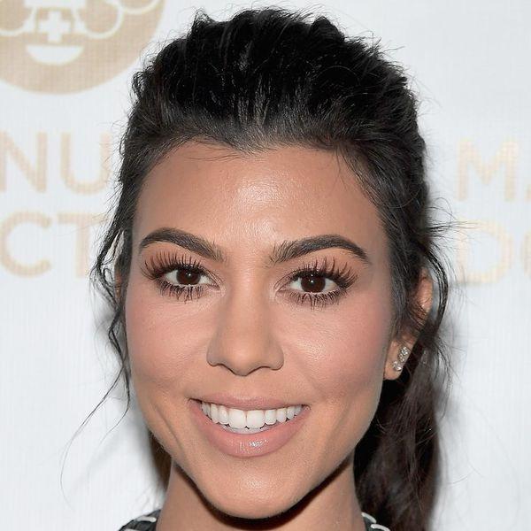 Here Are Kourtney Kardashian's Under-Eye Circle Concealing Secrets