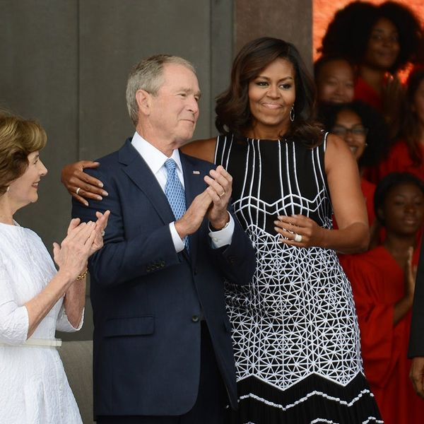 George W. Bush Reveals the Deets About His Friendship With Michelle Obama