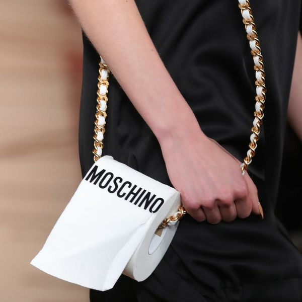 We Can't Get Over Moschino's Toilet Paper Purse