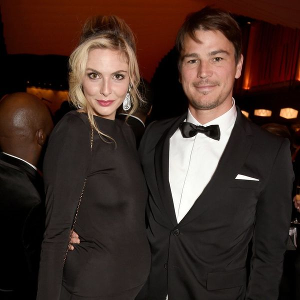 Josh Hartnett and Tamsin Egerton Surprised Us All With a Red Carpet Baby Bump Debut