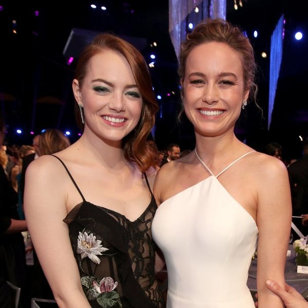 Emma Stone Broke Down in Brie Larson's Arms Backstage at the Oscars