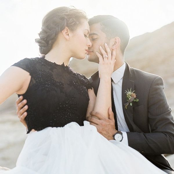 Get Ready to *Swoon* Over This Romantic Desert Elopement