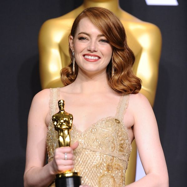 Emma Stone's Oscar Outfit Had a Powerful Addition That You Probably Missed