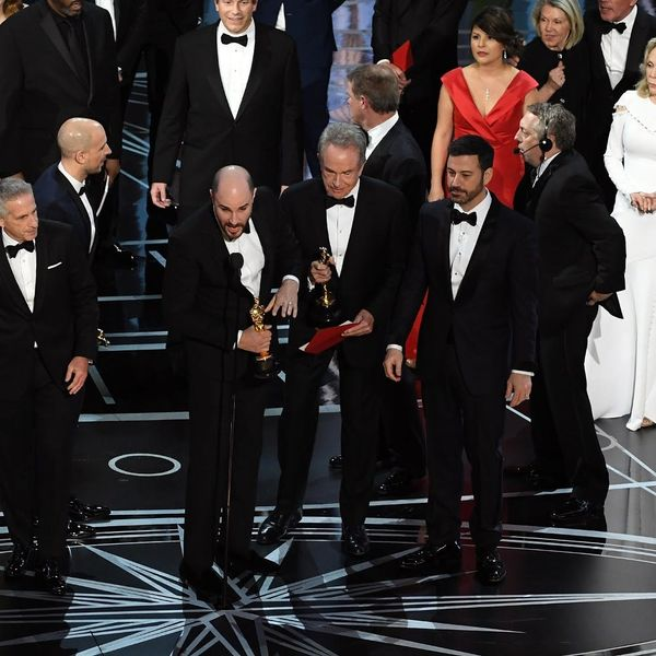 A Tale of Last Night's Oscar Mixup As Told Through GIF