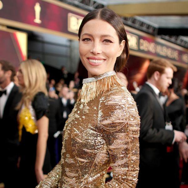 Jessica Biel's $2 Million Oscar Necklace Is Insane
