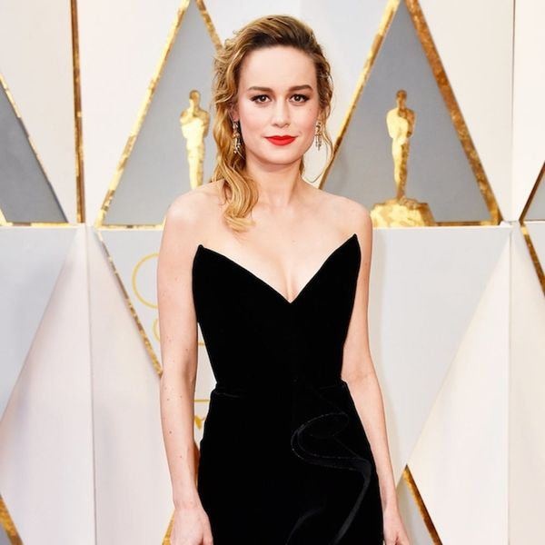 Brie Larson Channeled Beyoncé on the Oscars Red Carpet