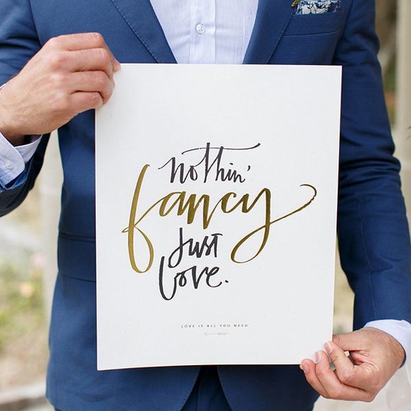 19 Creative Ways to Use Quotes in Your Wedding Decor
