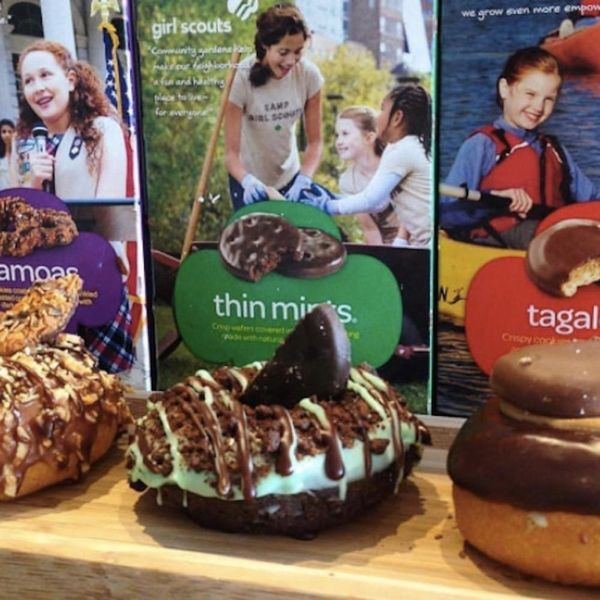 Girl Scout Donuts Exist and We Can't Stop Drooling at the Thought