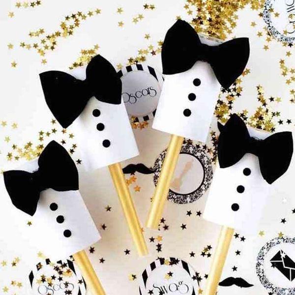 11 Easy Oscar Party DIYs That Will Win *All* the Awards