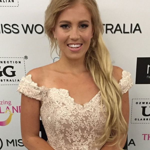 Australia's Contestant in the Miss World Competition Just Broke a Major Pageant Boundary