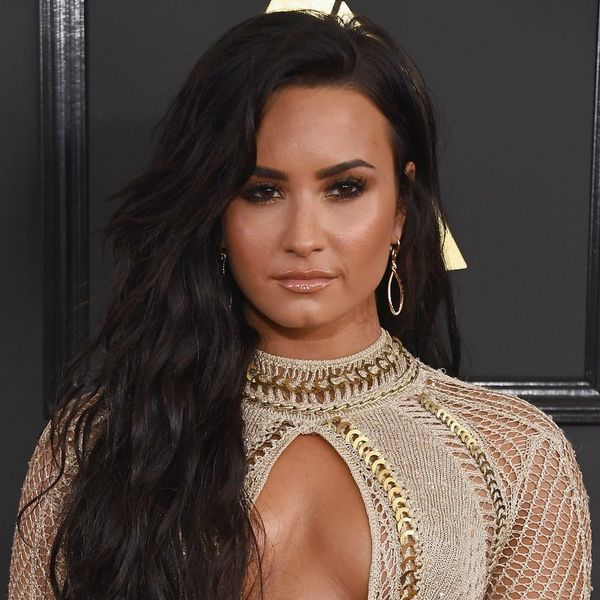 Demi Lovato Narrowly Missed an Embarrassing Wardrobe Malfunction at the Grammys