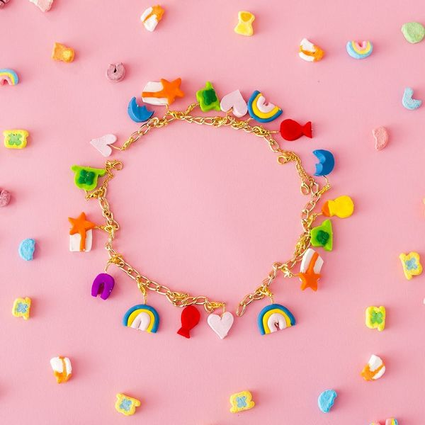 Make This Magically Easy Lucky Charms Bracelet for the Perfect St. Patrick's Day Accessory