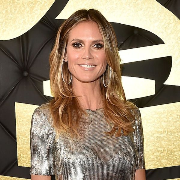 Heidi Klum Is the Latest Celeb to Rock a Makeup-Free Selfie and She's Stunning