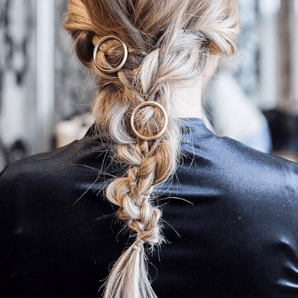 Metallic Hair Jewelry Is the Glamorous New Trend We're Obsessed With