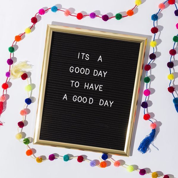Share All Your Feels on a DIY Letter Board