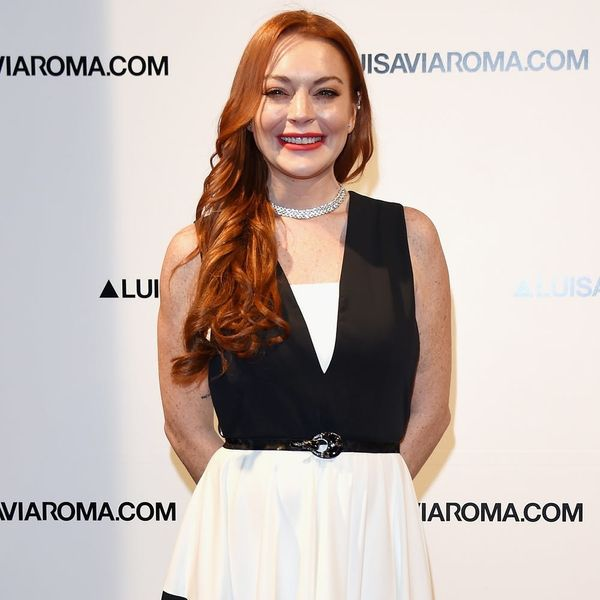 Lindsay Lohan Wants to Be Ariel in The Little Mermaid Remake and She's Got the Hair to Prove It