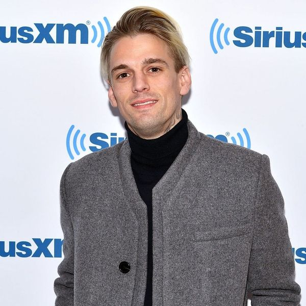 Aaron Carter Was Sent to the Hospital Over the Use of *This* Taboo Phrase