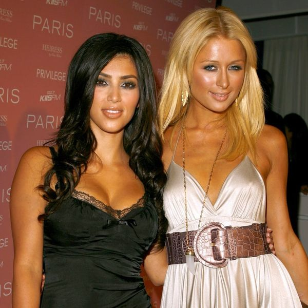 Kim Kardashian West Just Paid Tribute to Paris Hilton on Her 36th Birthday With This Iconic Look