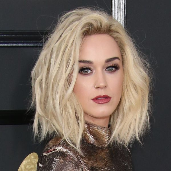 You'll Hardly Recognize Katy Perry As a Super Short Platinum Blonde