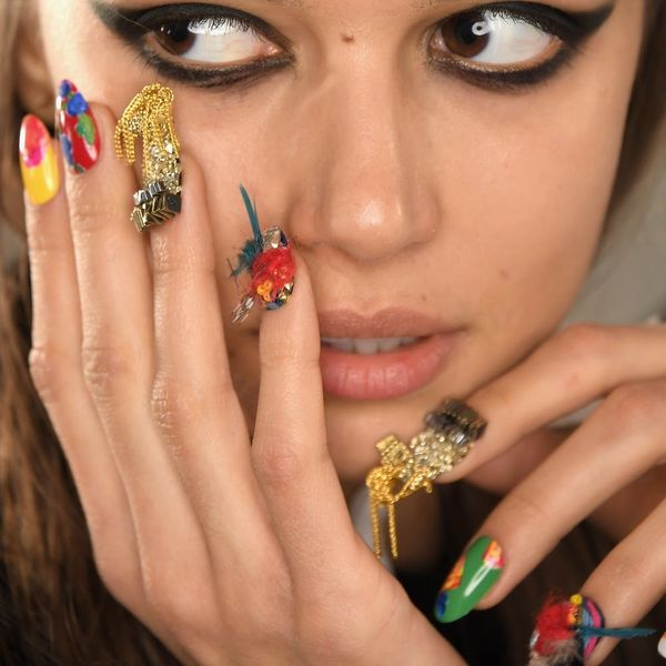 The 10 Most OTT Manicures and Nail Art from NYFW 2017