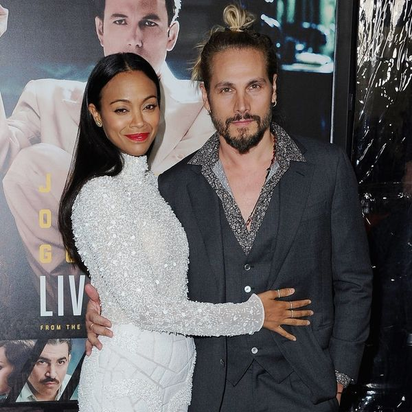 Zoe Saldana and Marco Perego Just Added a Third Baby to the Fam and His Name Is Out of This World