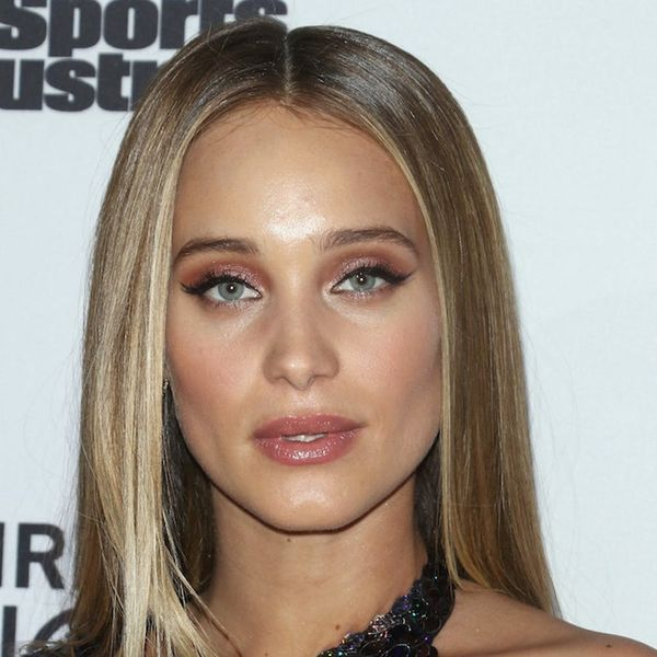 Here's How Pregnant Hannah Jeter Is Maintaining Her Hair Color