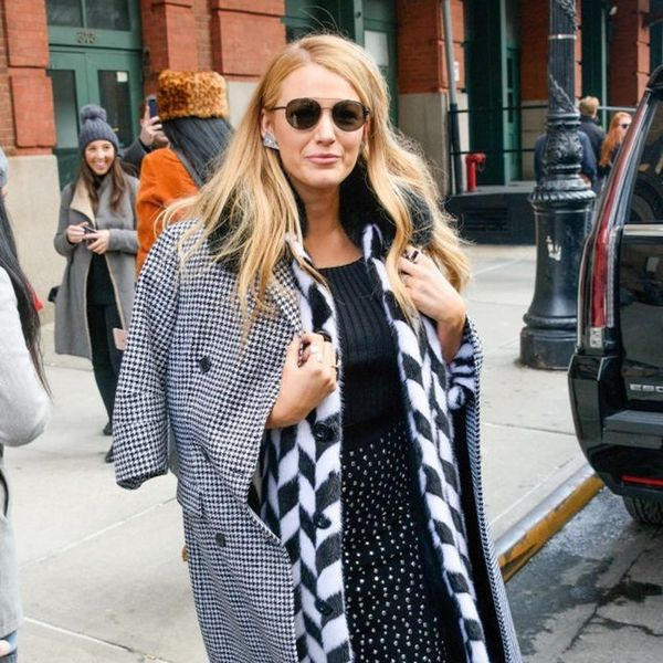 Blake Lively Broke Two Winter Style Rules With One Outfit