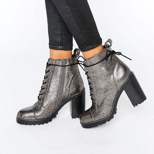 The Edit: 8 Chunky-Heeled Lace-Up Boots You Need to Add to Your Shoe Wardrobe