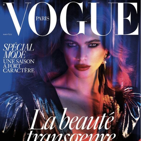French Vogue Has Finally Put a Transgender Model on Their Cover