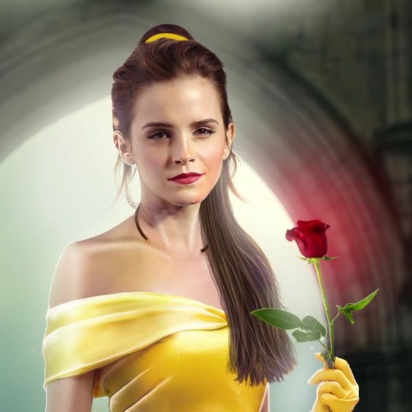 These Enchanted Rose Makeup Brushes Will Thrill Beauty and the Beast Fans