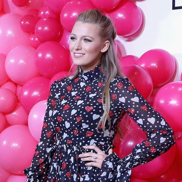 Behold, Blake Lively's Heart-Shaped Hairstyle You Need to Copy for Valentine's Day