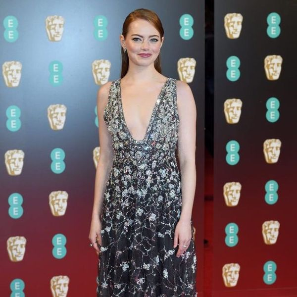 Emma Stone's Daring BAFTA Red Carpet Look Was Straight Off the Chanel Runway