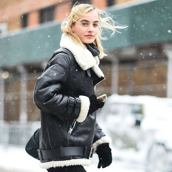 Get the Cold-Weather Jacket Every Fashion Girl Is Wearing for Under $150